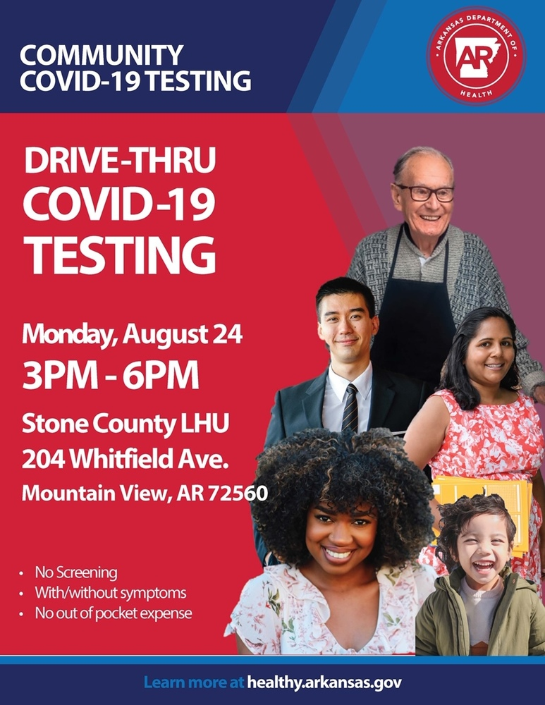 Stone County Covid-19 Testing