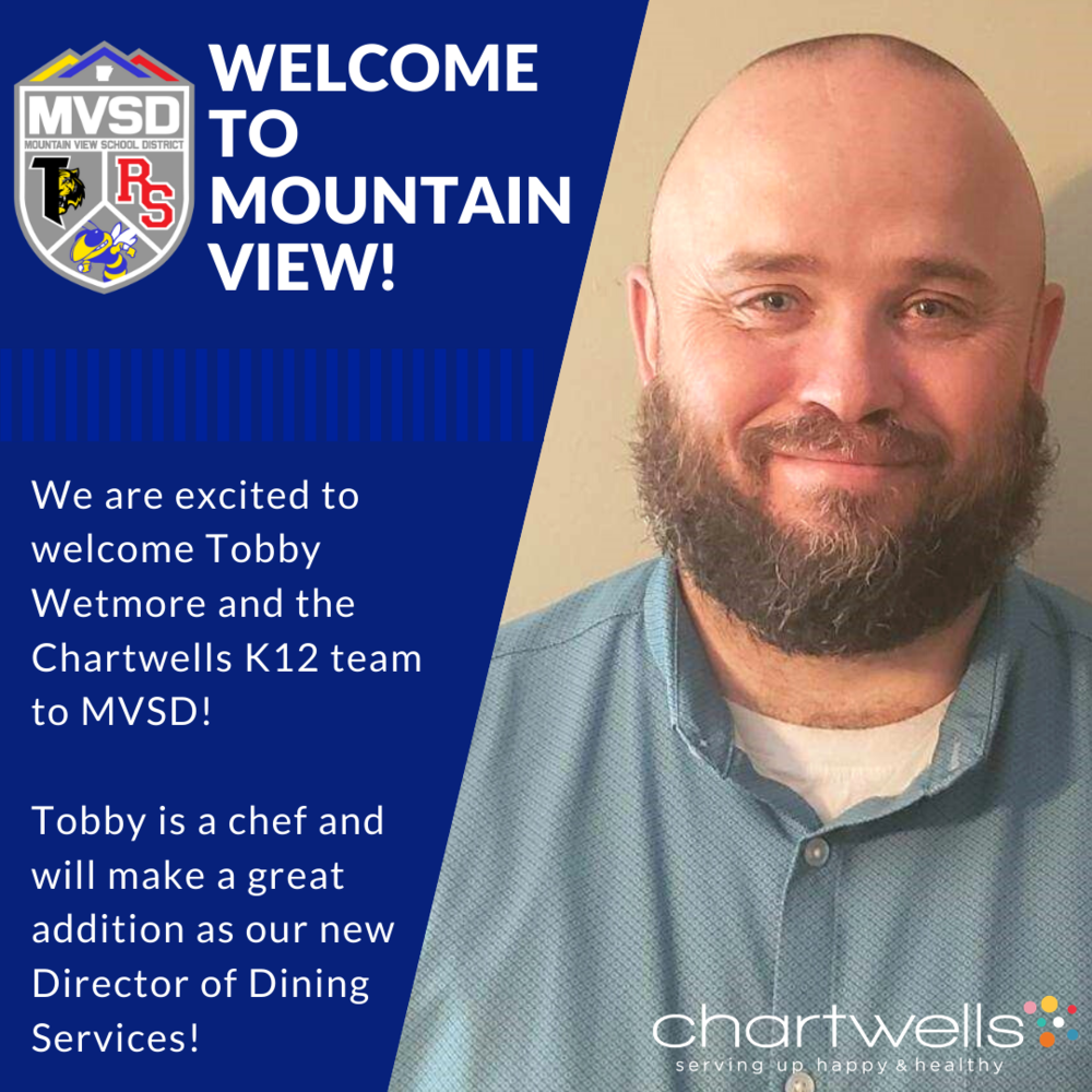 Welcome Chartwells And Our New Dining Service Director