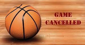 Basketball Game Cancellation