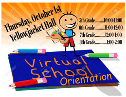 MVMS Virtual Orientation Schedule