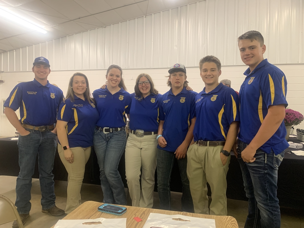 FFA at Farm Bureau Dinner.