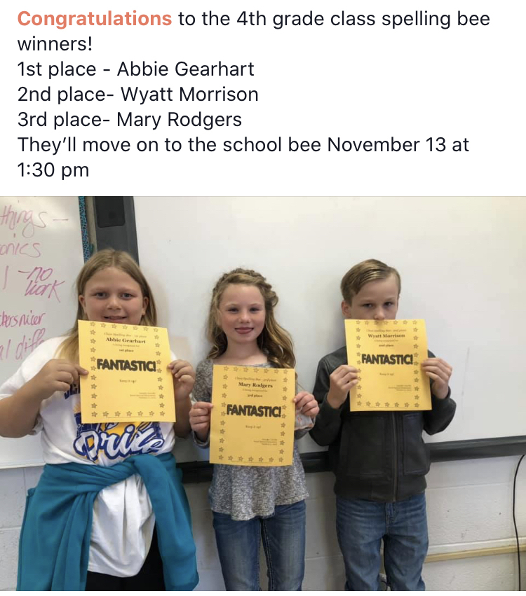 Congratulations Abbie, Mary Ellen and Wyatt
