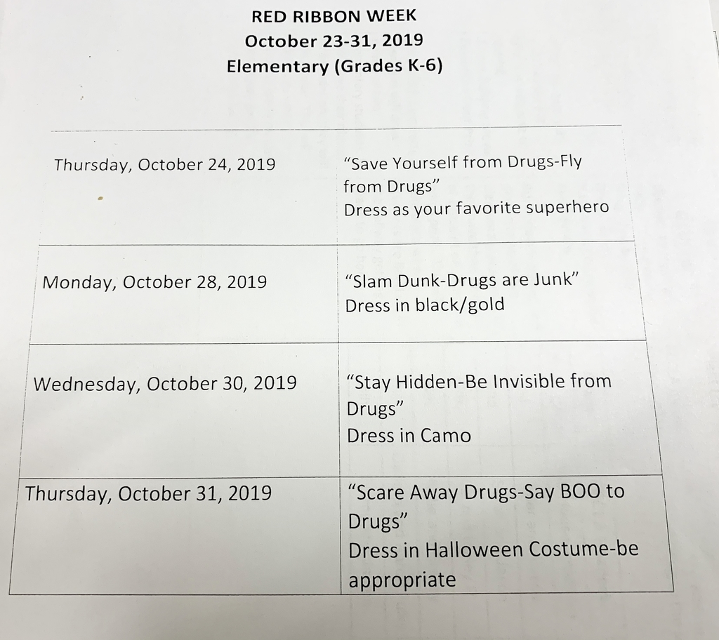 Timbo Elementary Dress Up Days!!🐯🖤💛