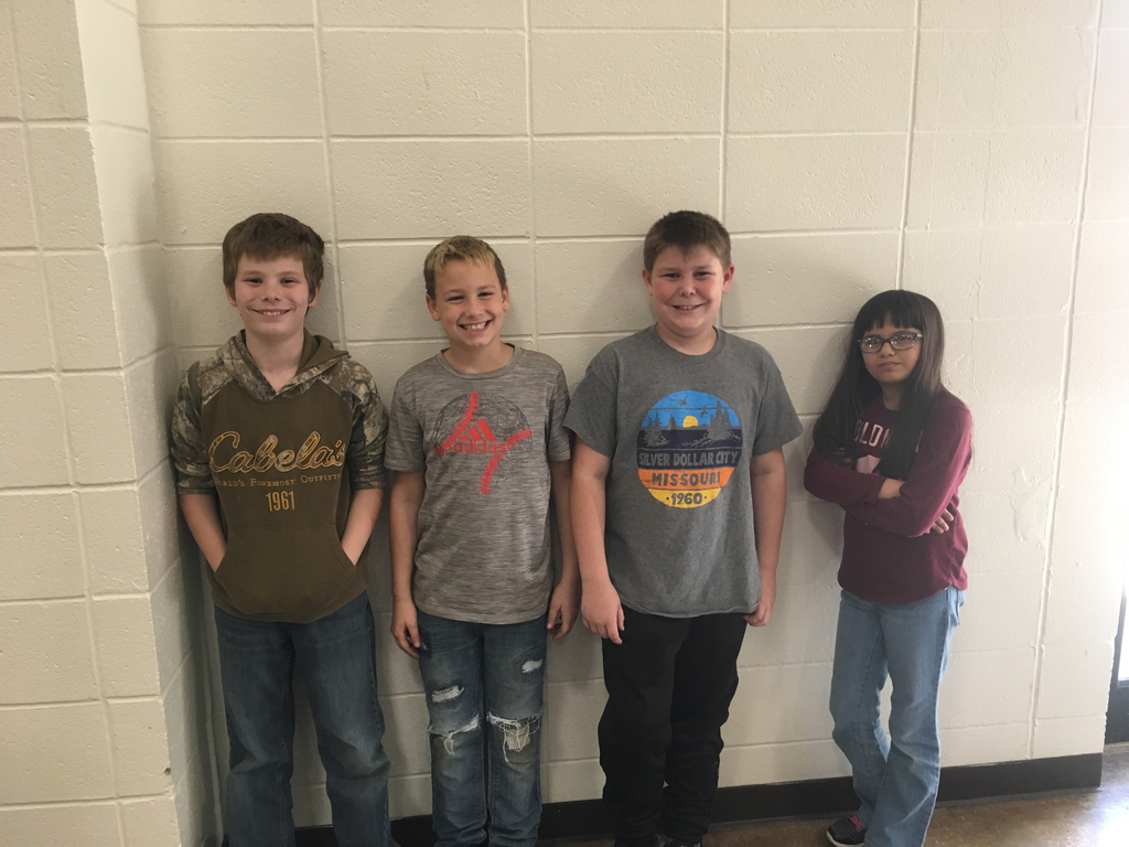 Fifth Grade Spelling Bee Winners