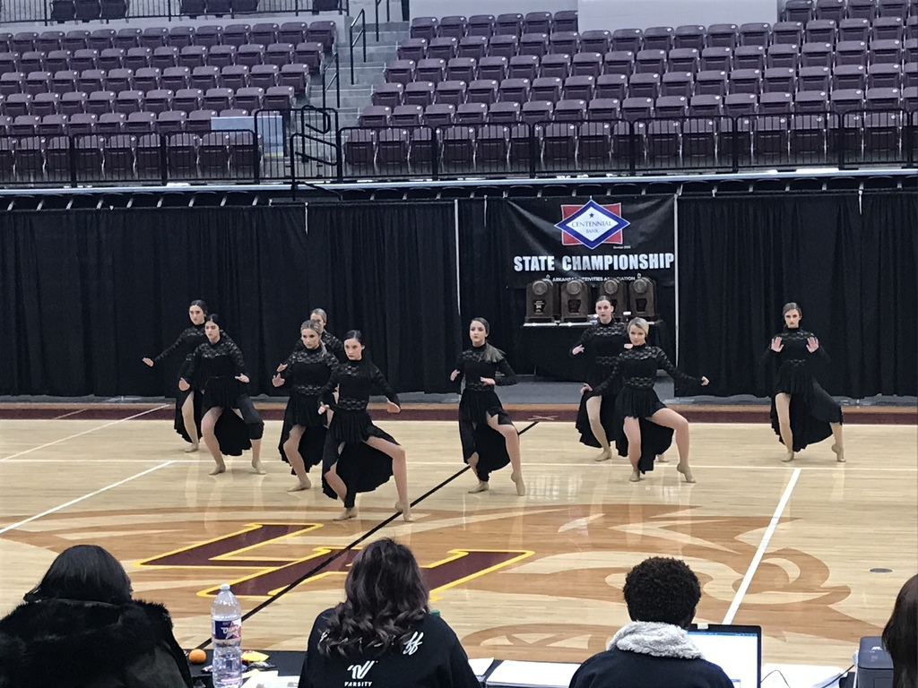 Jazz routine at state. 11/9/2019