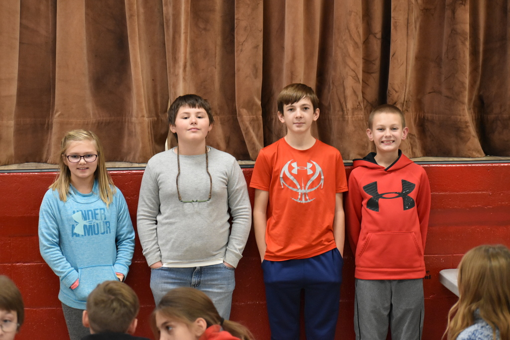RS Spelling Bee winners