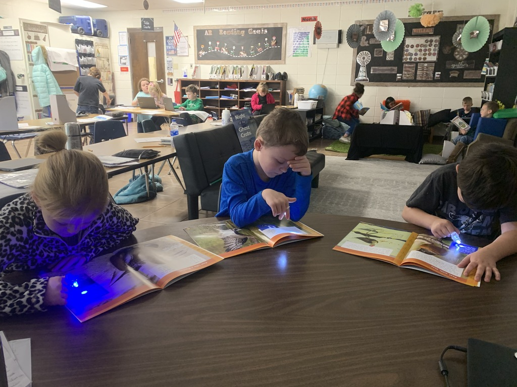 2nd Grade Flashlight Reading