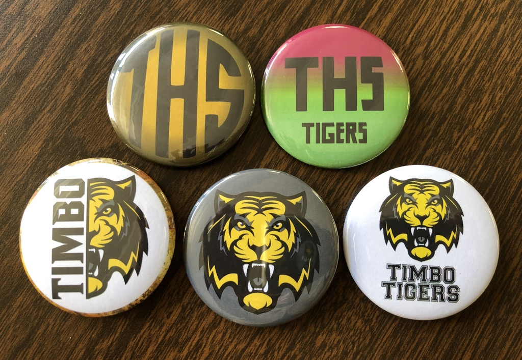THS Spirit Buttons