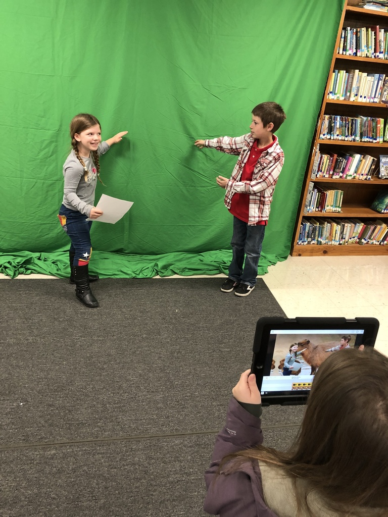 Green Screen 3rd Grade