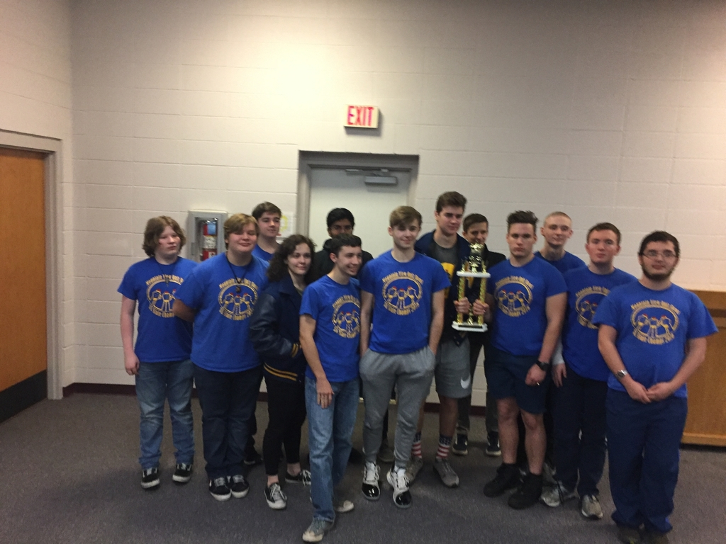 1st Place NortCentral Co-Op Quiz Bowl!